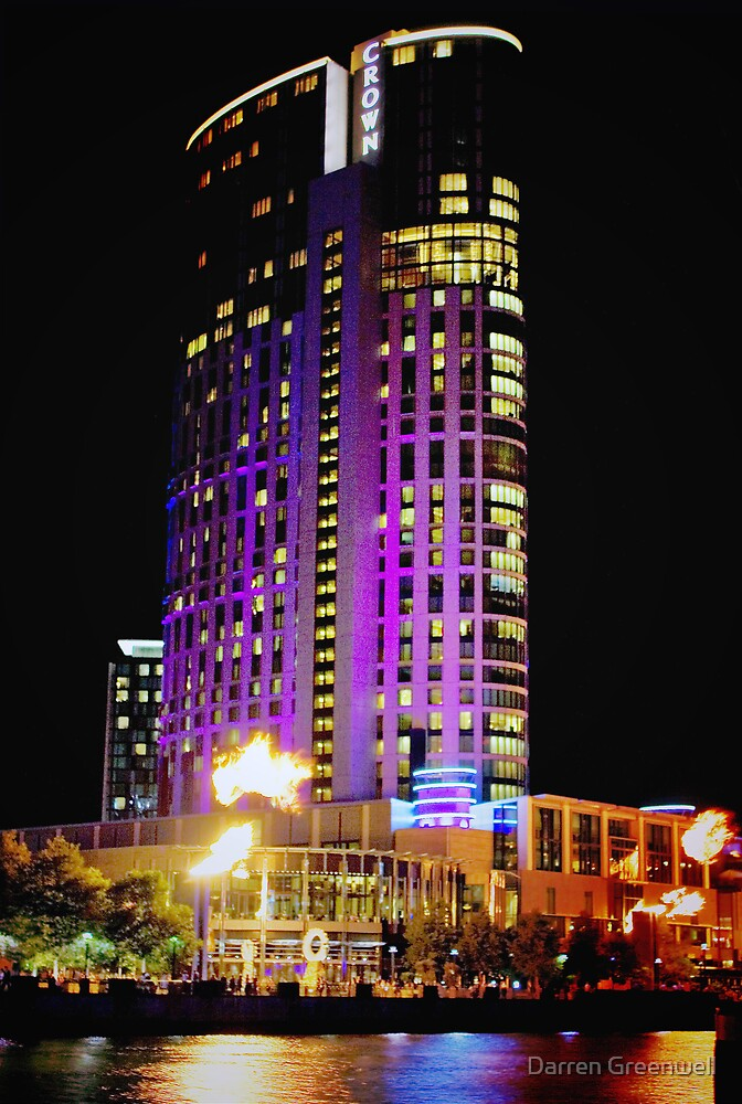 Crown Casino Hotel, Southbank, Melbourne by Darren Greenwell