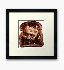Christopher Hitchens - Toast Framed Print