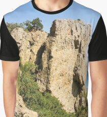A high stone rock. Graphic T-Shirt