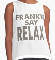 FRANKIE SAY RELAX Contrast Tank