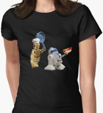 R2-D2 Hot Dog Thief Women's Fitted T-Shirt
