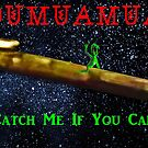 Chasing Oumuamua by EyeMagined