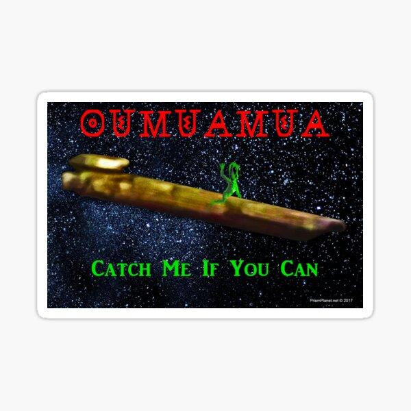 Chasing Oumuamua Sticker