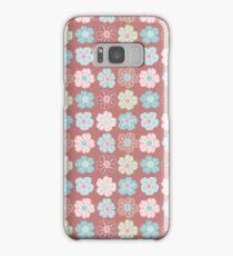 Nine Flowers, Chocolate and Mint, #11 Samsung Galaxy Case/Skin