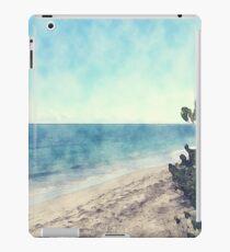 Morning Walk On The Beach  iPad Case/Skin