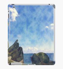 Blue Caribbean Sky iPad Case/Skin