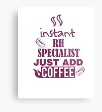 INSTANT RH JUST ADD COFFEE HR GIFT Metal Print