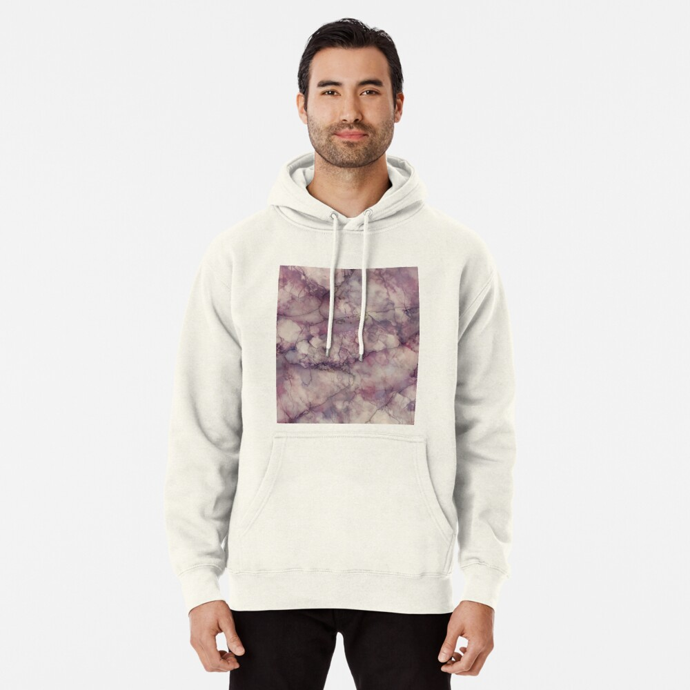 Marble Art V1 #redbubble #buyart Pullover Hoodie