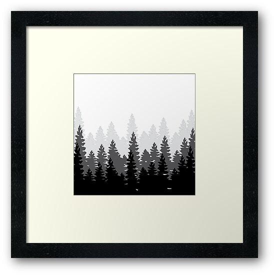 BW Forest  by Marah Krikorian