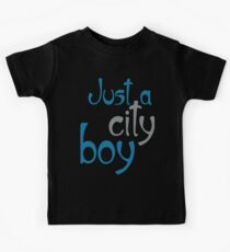Just a City Boy Kids Tee