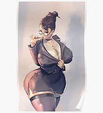 Teacher Chun-li, Street Fighter Poster