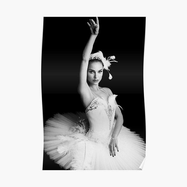 Nina Black Swan Poster