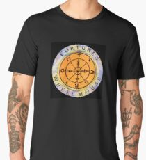 Fortune's Wheelhouse logo on black Men's Premium T-Shirt