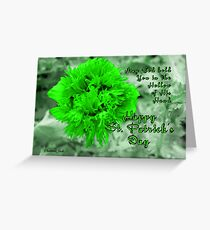 An Irish Blessing for St. Patrick's Day Greeting Card