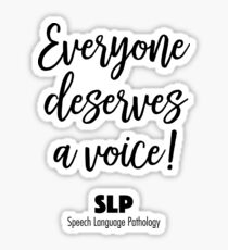 Speech Therapist Gifts For SLP Month Sticker