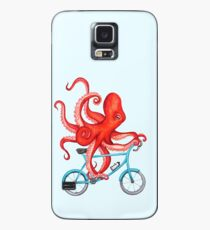 Cycling octopus Case/Skin for Samsung Galaxy