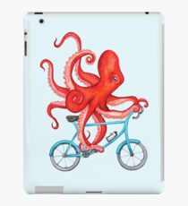 Cycling octopus iPad Case/Skin