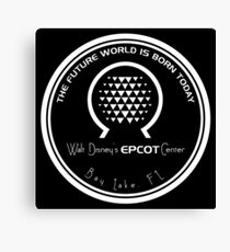 Retro Epcot Center Canvas Print