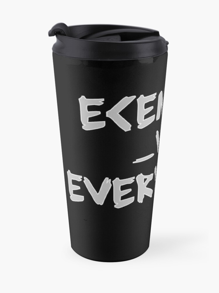 Alternate view of Ecentrik Vs. Everybody Travel Mug