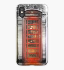 TELEPHONE BOXES iPhone Case/Skin
