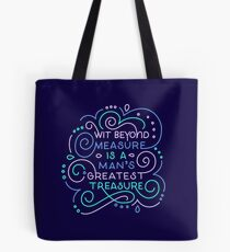 Wit Beyond Measure Tote Bag