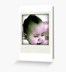 Giggles  Greeting Card