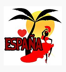 Espana Photographic Print