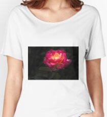 A Rose for Love Women's Relaxed Fit T-Shirt