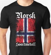 Norwegian Black Metal - Norsk Svartmetal Unisex T-Shirt