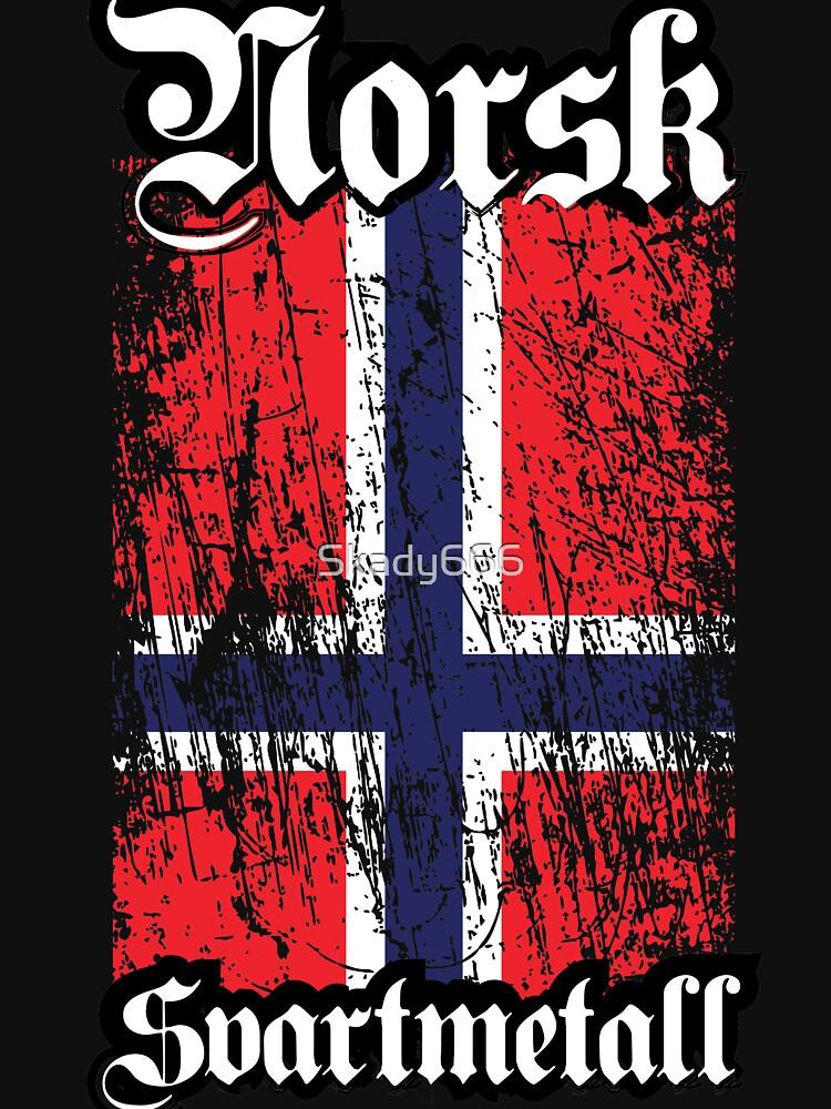 Norwegian Black Metal - Norsk Svartmetal by Skady666