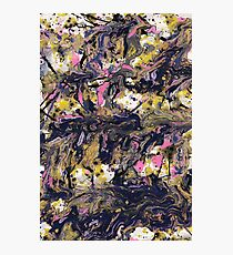 Abstract paint strokes Photographic Print