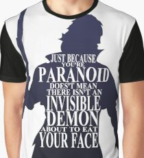 Invisible Demons Graphic T-Shirt