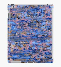 Abstract blue painting iPad Case/Skin