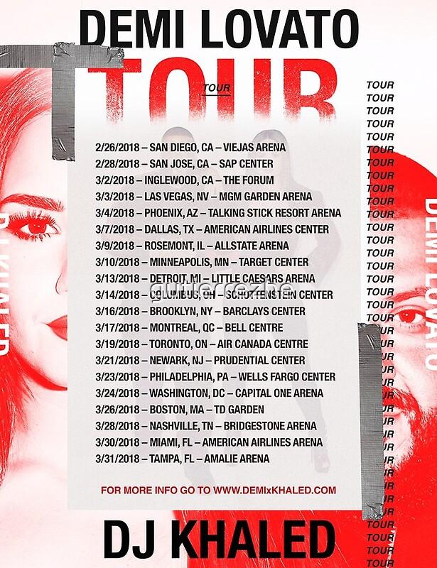 Demi Lovato Tour Boston