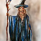 The Wizard illustration by Extreme-Fantasy