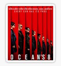 Ocean's 8  Sticker