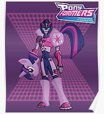 Twilight Sparkle: Ponyformer (Transformers/MLP Mashup) Poster
