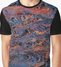 Dark paint strokes Graphic T-Shirt