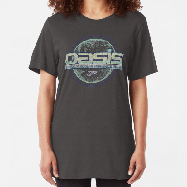 OASIS by Gregarious Simulation Systems (GSS) Slim Fit T-Shirt