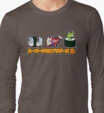Super Mario Bros Sushi Long Sleeve T-Shirt