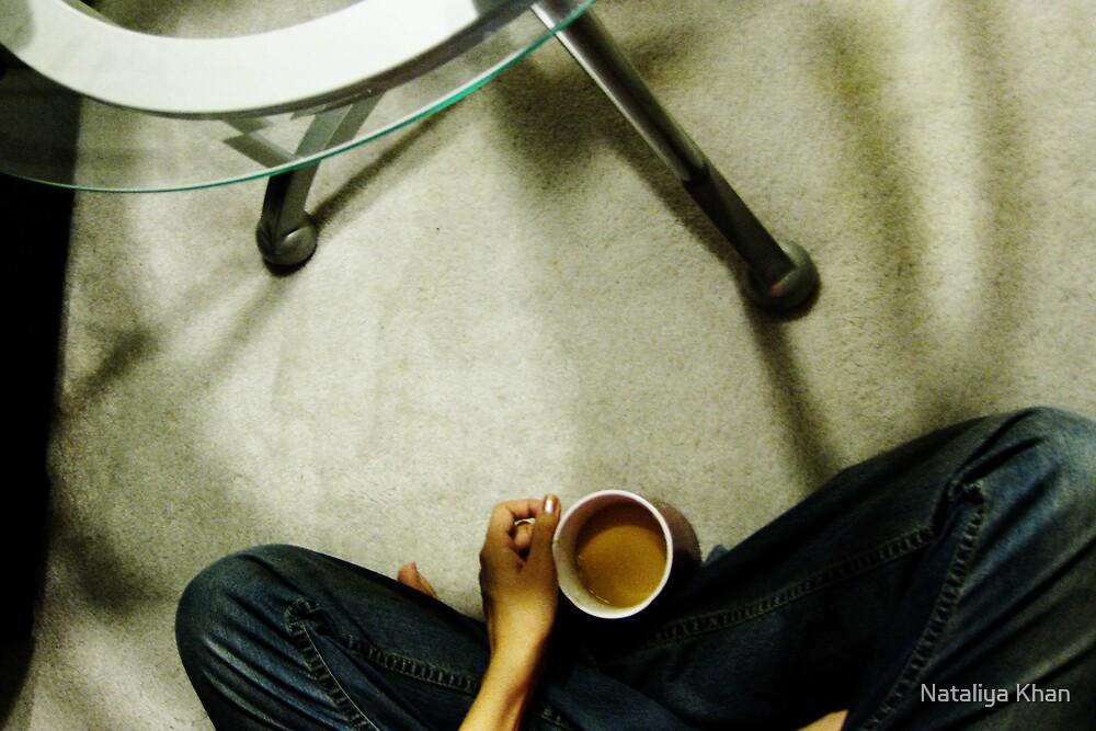 one cup of tea by Nataliya Khan