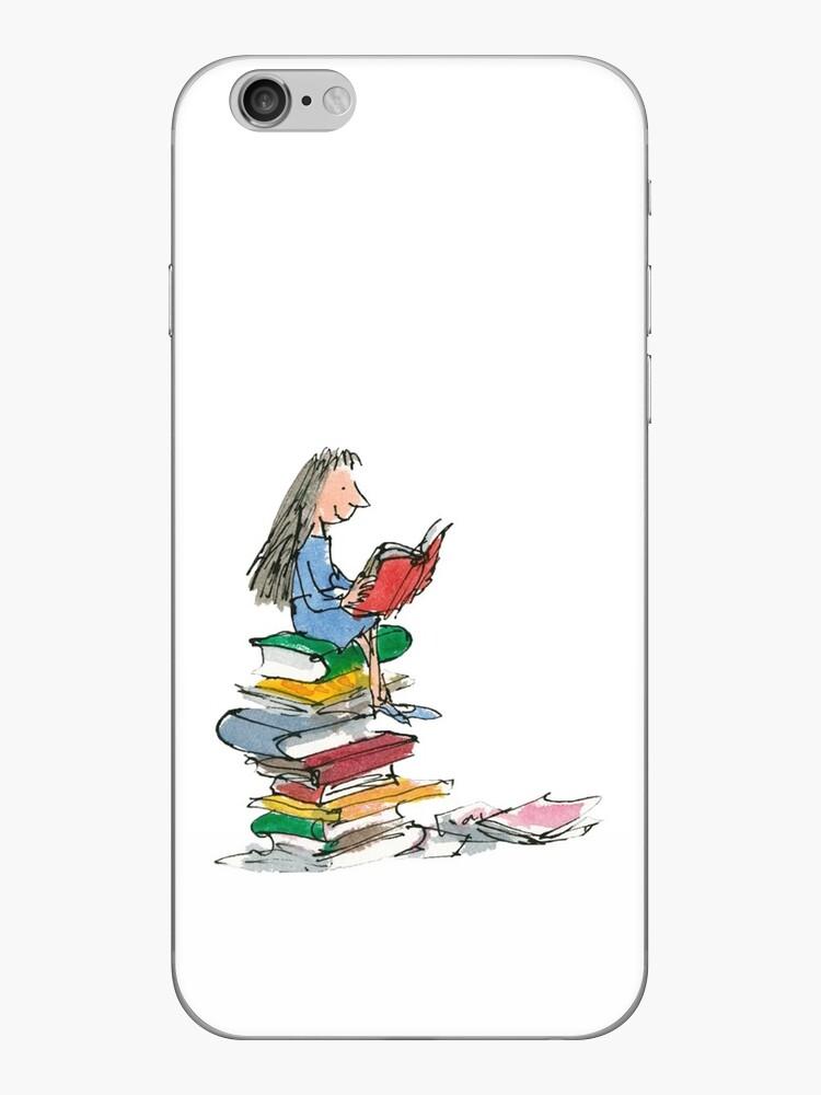 Matilda Roald Dahl Aquarellillustration von electricgal