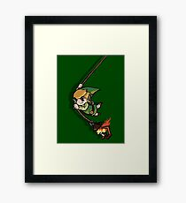 Hero of Time Framed Print