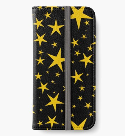 NDVH Stars (gold on black) iPhone Wallet