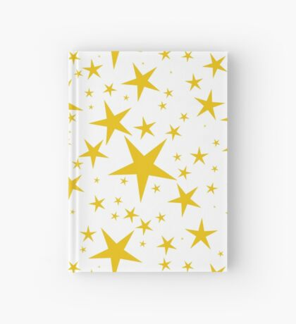 NDVH Stars (gold on white) Hardcover Journal
