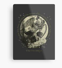 Bag of Minutes Metal Print