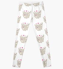 Funny Cupid Cat Love - Cat Gifts for Cat Lovers! Leggings