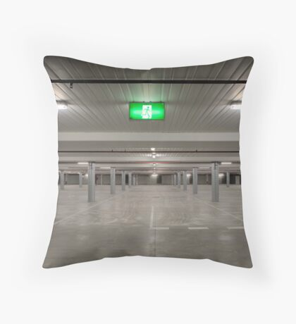 Without Cars Throw Pillow