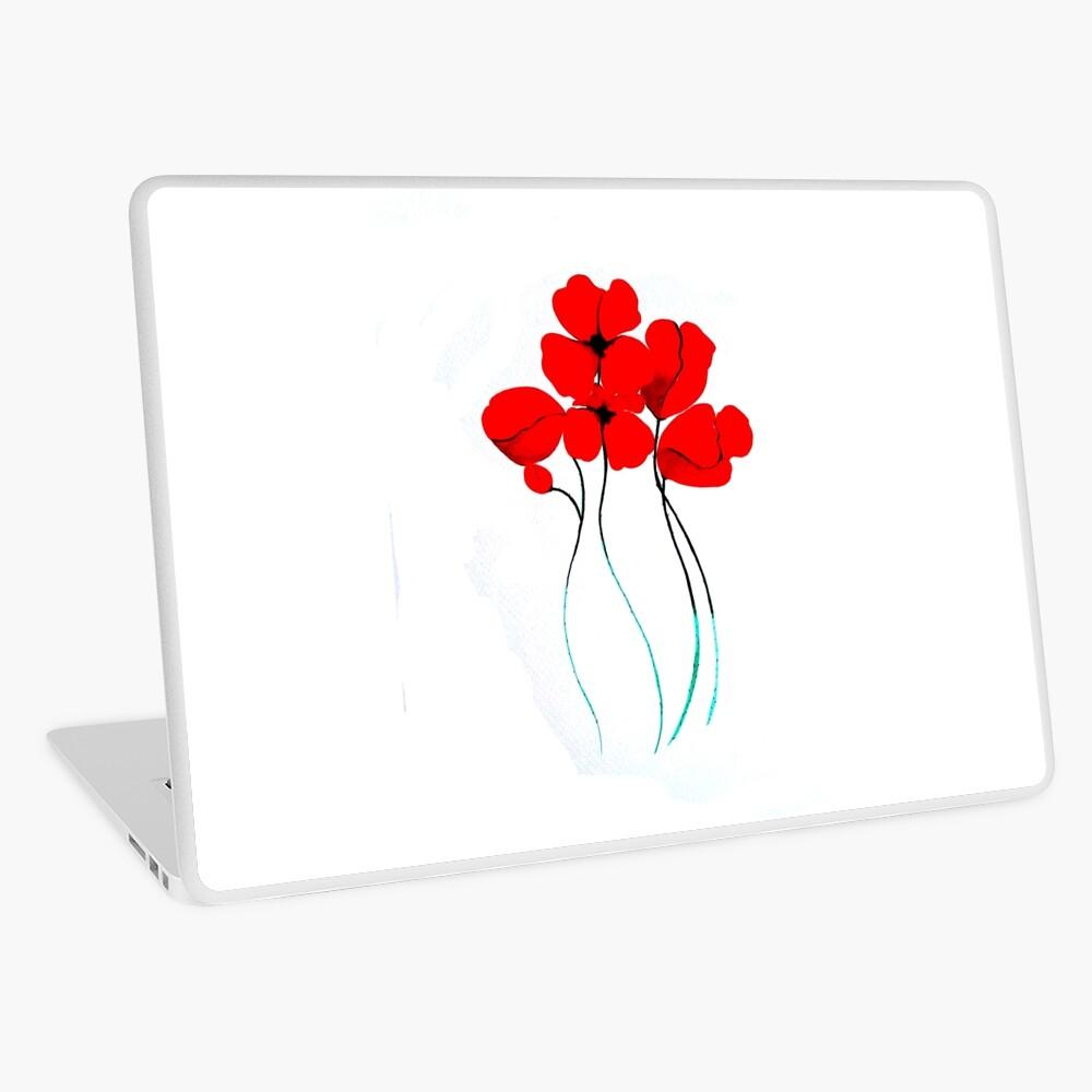 Poppies Vinilo para portátil