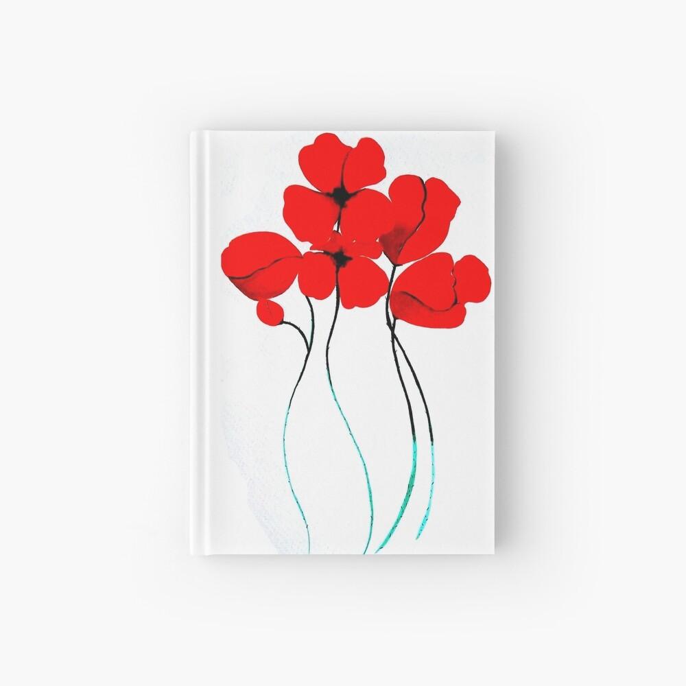 Poppies Cuaderno de tapa dura